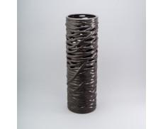 Ваза керамічна 35 см Light grey
