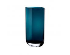 Ваза Blade синяя Nude Glass 40 см