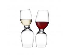 Комплект келихів для білого та червоного вина Nude Glass
