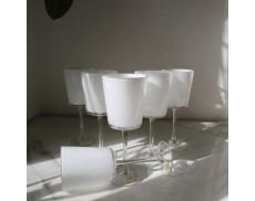 Набір білих келихів для червоного вина 6шт Sakura